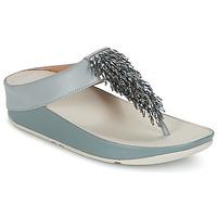 Încăltăminte Femei  Flip-Flops FitFlop CHA-CHA TOE-THONG SANDALS CRYSTAL Albastru