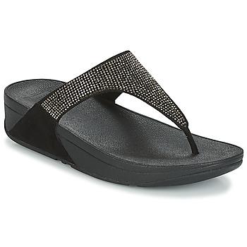 Încăltăminte Femei  Flip-Flops FitFlop SLINKY ROKKIT Negru