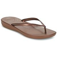 Pantofi Femei  Flip-Flops FitFlop IQUSHION ERGONOMIC FLIP FLOPS Maro