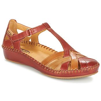 Încăltăminte Femei Sandale și Sandale cu talpă  joasă Pikolinos P. VALLARTA 655 Maro