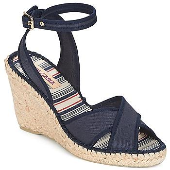 Pantofi Femei Sandale și Sandale cu talpă  joasă Pare Gabia KLINADA Bleumarin