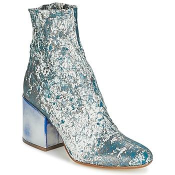 Pantofi Femei Botine Now LUNA Albastru