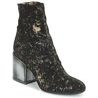 Pantofi Femei Botine Now LUNA Negru