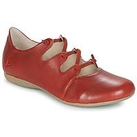 Pantofi Femei Balerin și Balerini cu curea Josef Seibel FIONA 04 Roșu