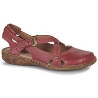 Pantofi Femei Sandale și Sandale cu talpă  joasă Josef Seibel ROSALIE 13 Roșu