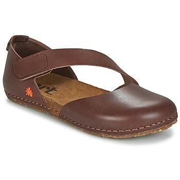 Pantofi Femei Balerin și Balerini cu curea Art CRETA 442 Maro
