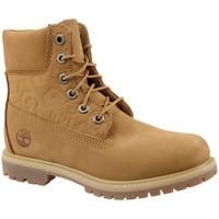 Pantofi Femei Botine Timberland 6 In Premium Boot W Marron