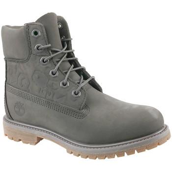 Pantofi Femei Botine Timberland 6 In Premium Boot W Grise