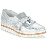 Pantofi Femei Mocasini Regard RASTAFA Argintiu