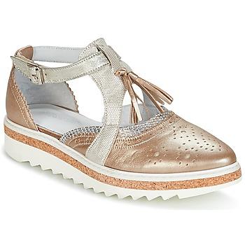 Pantofi Femei Pantofi Derby Regard RASTANU Bronz