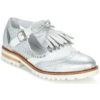 Pantofi Femei Pantofi Derby Regard RETAZO Alb / Argintiu