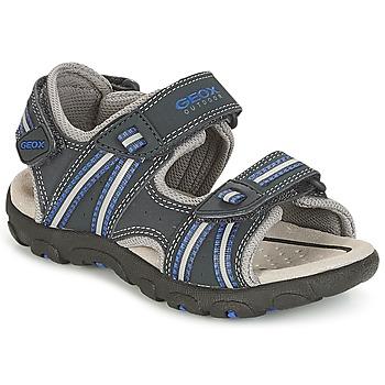 Pantofi Băieți Sandale sport Geox J S.STRADA A Bleumarin