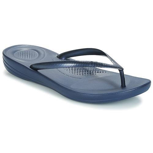 Pantofi Femei  Flip-Flops FitFlop IQUSHION ERGONOMIC FLIP-FLOPS Albastru