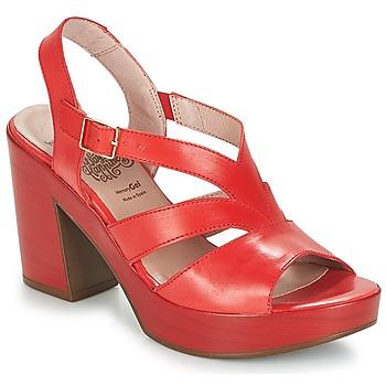 Pantofi Femei Sandale  Wonders JOPERJO Roșu