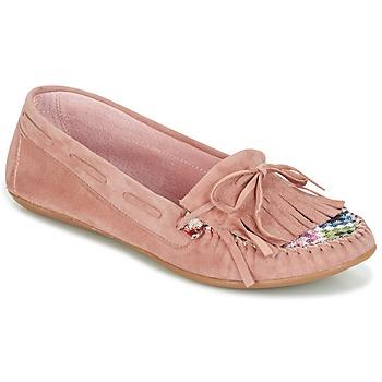 Încăltăminte Femei Mocasini Ippon Vintage MOC-WAX-ROSE Roz