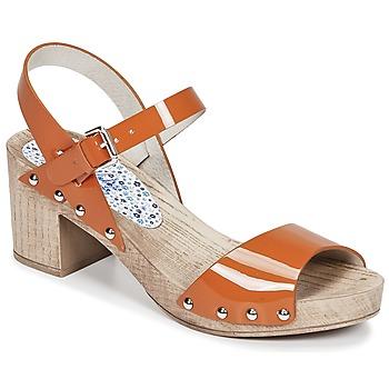 Pantofi Femei Sandale și Sandale cu talpă  joasă Ippon Vintage SOK COLORS Portocaliu
