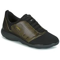 Încăltăminte Femei Pantofi sport Casual Geox D NEBULA C Auriu / Negru