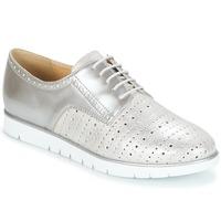 Pantofi Femei Pantofi Derby Geox KOOKEAN Argintiu