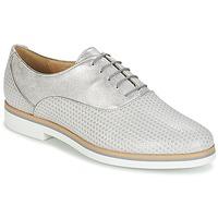 Pantofi Femei Pantofi Derby Geox JANALEE A Gri / Alb