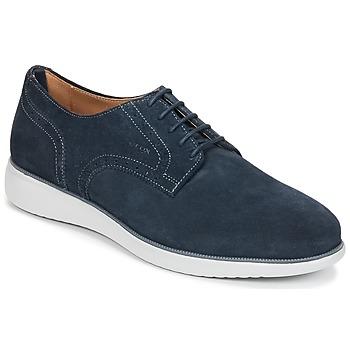 Încăltăminte Bărbați Pantofi Derby Geox WINFRED A Bleumarin