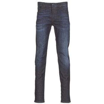 Îmbracaminte Bărbați Jeans slim Sisley FLAGADU Albastru / Culoare închisă