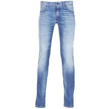 Îmbracaminte Bărbați Jeans slim Sisley BURLUDU Albastru / Medium