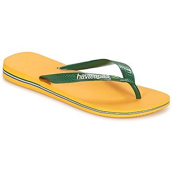 Încăltăminte  Flip-Flops Havaianas BRAZIL LOGO Galben