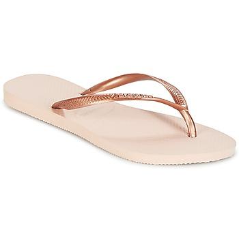 Pantofi Femei  Flip-Flops Havaianas SLIM Roz / Auriu