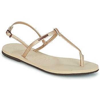 Pantofi Femei Sandale  Havaianas YOU RIVIERA Bej