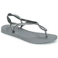 Pantofi Femei  Flip-Flops Havaianas LUNA Argintiu