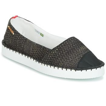 Pantofi Femei Espadrile Havaianas ORIGINE FLATFORM UP Negru