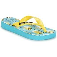 Încăltăminte Băieți  Flip-Flops Havaianas MINIONS Albastru / Galben