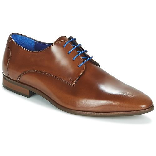 Pantofi Bărbați Pantofi Derby Azzaro VALMI Coniac