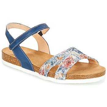 Pantofi Femei Sandale  Think ZIFUDEKE Albastru