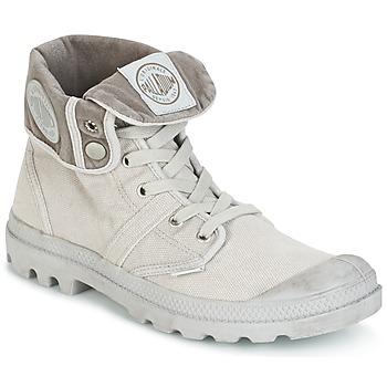 Pantofi Bărbați Ghete Palladium US BAGGY Metal