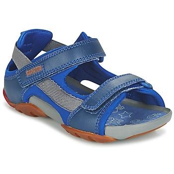 Încăltăminte Băieți Sandale și Sandale cu talpă  joasă Camper OUS Albastru