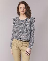 Îmbracaminte Femei Topuri și Bluze Maison Scotch OLZAKD Negru / Alb