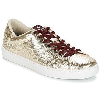 Încăltăminte Femei Pantofi sport Casual Victoria DEPORTIVO METALIZADO Auriu