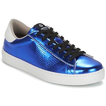 Încăltăminte Femei Pantofi sport Casual Victoria DEPORTIVO METALIZADO Albastru