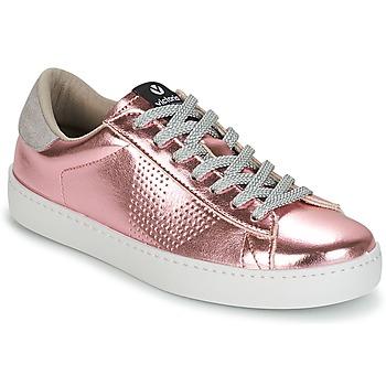Pantofi Femei Pantofi sport Casual Victoria DEPORTIVO METALIZADO Roz