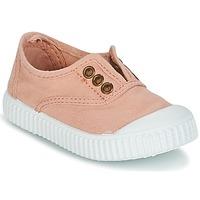 Încăltăminte Fete Pantofi sport Casual Victoria INGLESA LONA TINTADA Roz