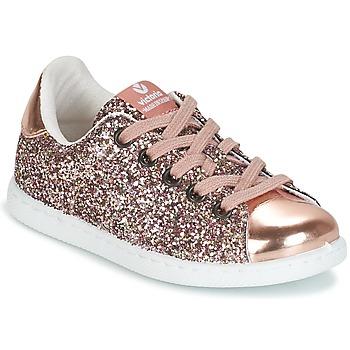 Încăltăminte Fete Pantofi sport Casual Victoria DEPORTIVO GLITTER KID Roz