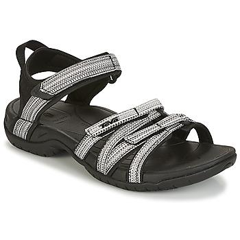 Pantofi Femei Sandale  Teva TIRRA Negru / Alb