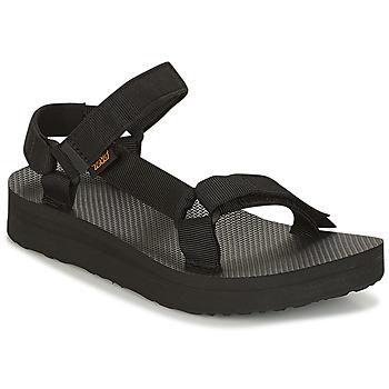Pantofi Femei Sandale  Teva MIDFORM UNIVERSAL Negru