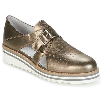 Pantofi Femei Pantofi Derby Philippe Morvan DISCO Bronz
