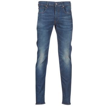 Îmbracaminte Bărbați Jeans slim G-Star Raw 3301 SLIM Albastru