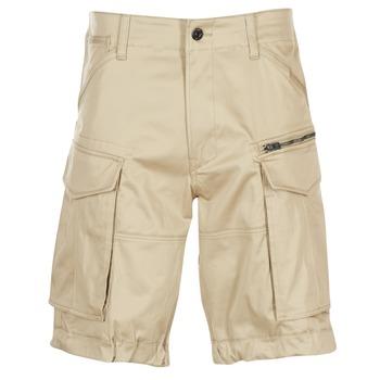 Îmbracaminte Bărbați Pantaloni scurti și Bermuda G-Star Raw ROVIC ZIP LOOSE 1/2 Bej