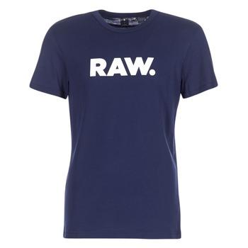 Îmbracaminte Bărbați Tricouri mânecă scurtă G-Star Raw HOLORN R T S/S Bleumarin