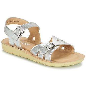 Pantofi Fete Sandale  Start Rite SR SOFT HARPER Argintiu