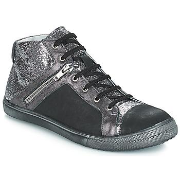 Încăltăminte Fete Cizme casual GBB KAMI  negru-argintiu / Dpf / Basket